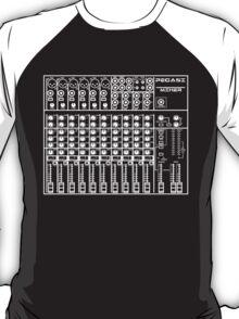 Mixing / sound board (Black) T-Shirt