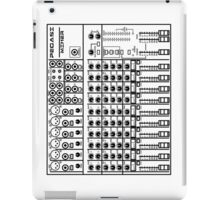 Mixing / sound board (White) iPad Case/Skin
