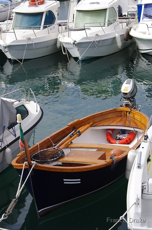 Boat - Contrast In Colour by Francis Drake