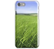 Fields of Green iPhone Case/Skin