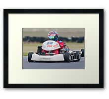 Unknown driver #0 Framed Print