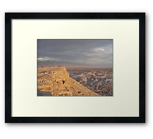 Valley of the Moon Framed Print