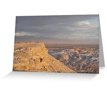 Valley of the Moon Greeting Card