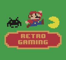 Retro Gaming Kids Tee