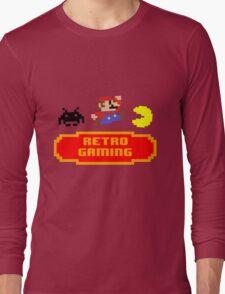 Retro Gaming Long Sleeve T-Shirt