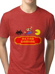 Retro Gaming Tri-blend T-Shirt