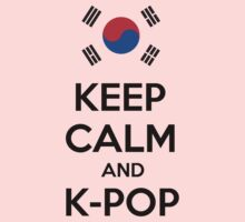 Keep calm and K-pop Kids Clothes