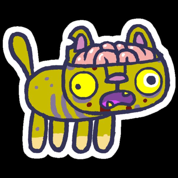 Pickles the zombie hackycat by hackycat