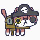 Scurvy Pete the pirate hackycat by hackycat