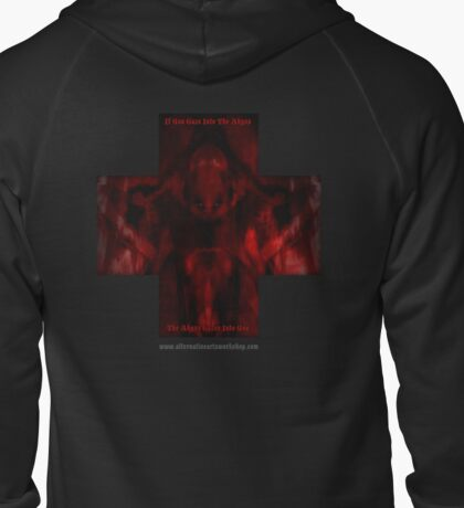 The Abyss Zipped Hoodie