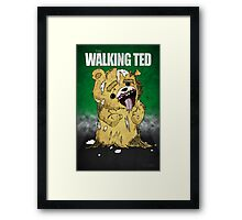 The Walking Ted Framed Print
