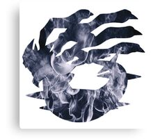 Giratina used shadow force Canvas Print