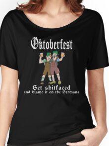 Oktoberfest Get Shit Faced Women's Relaxed Fit T-Shirt