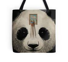 Panda window cleaner 03 Tote Bag