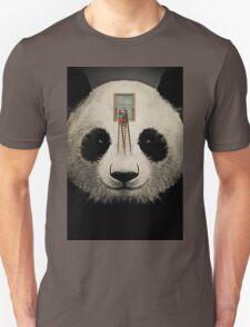 Panda window cleaner 03 Unisex T-Shirt