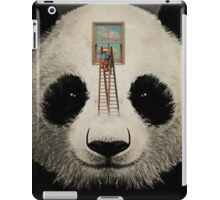 Panda window cleaner 03 iPad Case/Skin