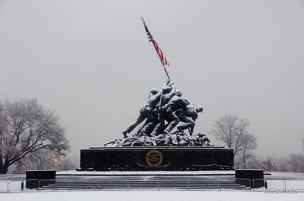 Iwo Jima Memorial - Arlington National Cemetary by Matsumoto