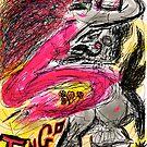 Tango Argentino. Drawing Andrzej Goszcz And Adela. by © Andrzej Goszcz,M.D. Ph.D