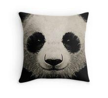 panda eyes 02 Throw Pillow