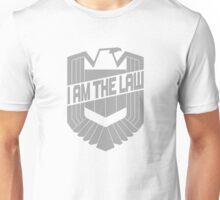Custom Dredd Badge Shirt - (I Am The Law) Unisex T-Shirt
