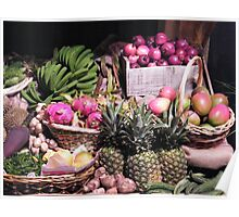 Fruit Display, Macy's Flower Show 2013, New York City Poster