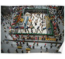 Lego Rockefeller Center Skating Rink,  Rockefeller Center Lego Store, New York City Poster