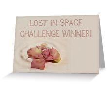 Banner - LIS - Challenge Winner Greeting Card