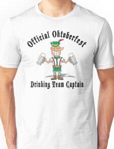 Oktoberfest Drinking Team Captain Unisex T-Shirt