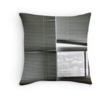 blinds Throw Pillow