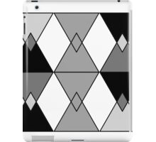 Cool and Clean Triangle Design  iPad Case/Skin
