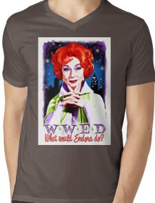 What would Endora? Bewitched. Agnes Moorehead. Samantha mother Mens V-Neck T-Shirt