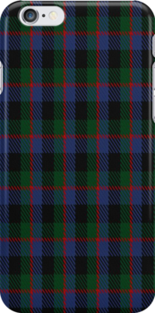 01255 Asida Blue Fashion Tartan Fabric Print Iphone Case by Detnecs2013