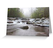 Mountain River 2 Greeting Card