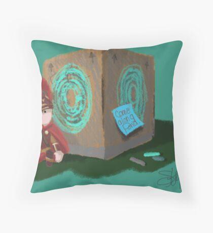 Pandorable (FULL) Throw Pillow
