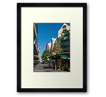 Rundle Mall - Looking West  Framed Print