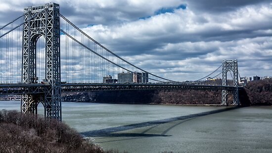 George Washington Bridge - New York City by Joel Raskin