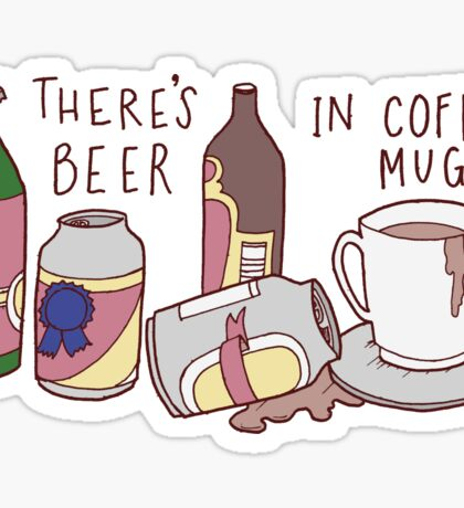 The Beers Sticker