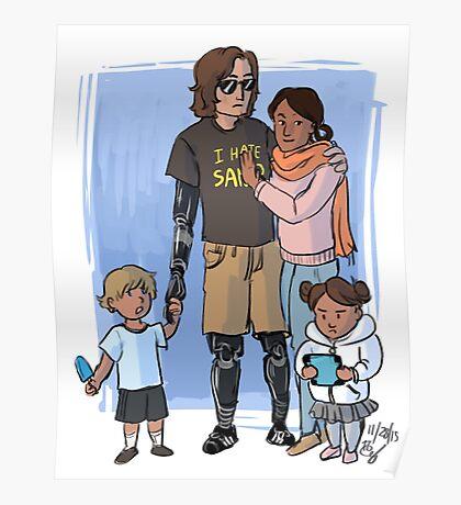 Skywalker Family Poster