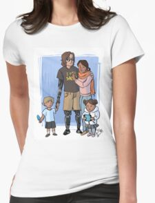 Skywalker Family Womens Fitted T-Shirt