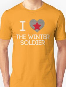 I Heart The Winter Soldier T-Shirt