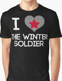 I Heart The Winter Soldier Graphic T-Shirt