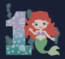 Ariel The little mermaid 1st Birthday by sweetsisters