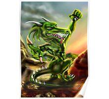 The human dragon Poster