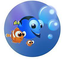 Finding Nemo by lobosdave