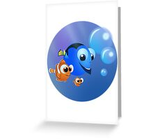 Finding Nemo Greeting Card