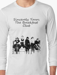 Breakfast club low words Long Sleeve T-Shirt