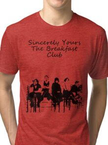 Breakfast club low words Tri-blend T-Shirt