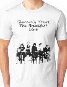 Breakfast club low words Unisex T-Shirt