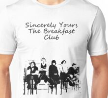 Breakfast club low words Unisex T-Shirt