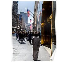 Homeless on 5th Avenue Poster